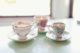 Custom make your own candle in a tea cup 100% by NoellasCandles