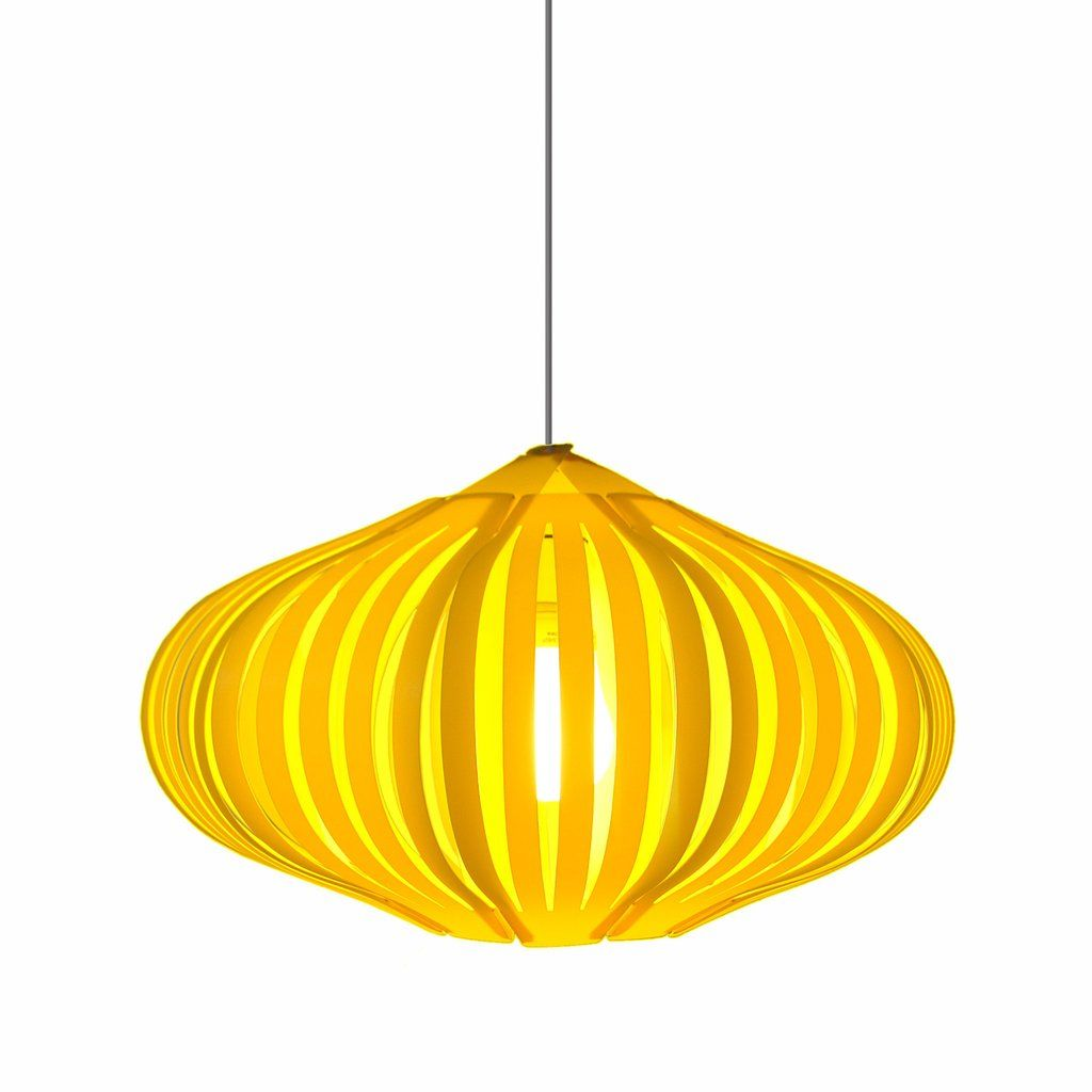 Pendant Lamp Shade By Funky Lampshades Yellow Lamp White Lamp Shade Funky Lamps