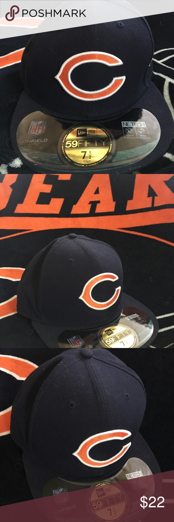 e0f2cfbd86c Chicago Bears NFL New Era Fitted 7 1 2 Brand new with tags. This