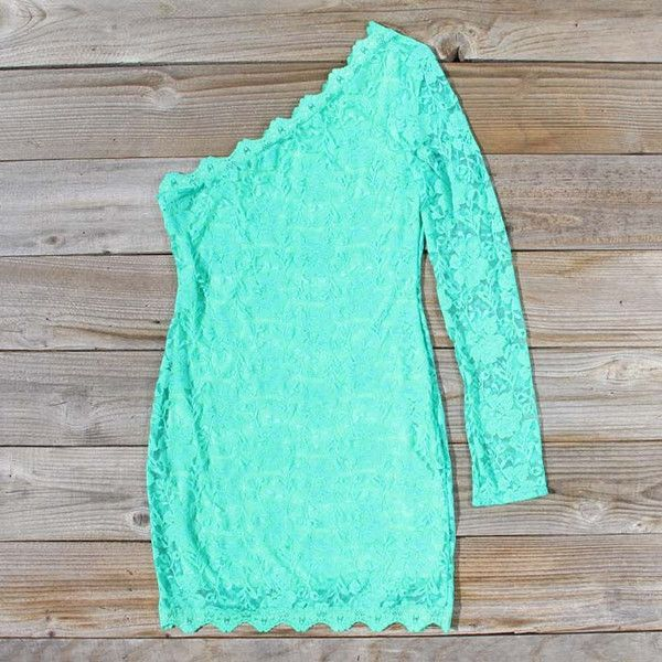 Dress: mint one shoulder. Bachelorette party??