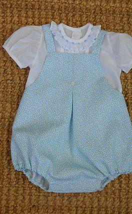 tutorial y patrón para ahcer pantalón con peto para bebé de 6- 9 meses 91b1a86e16d8