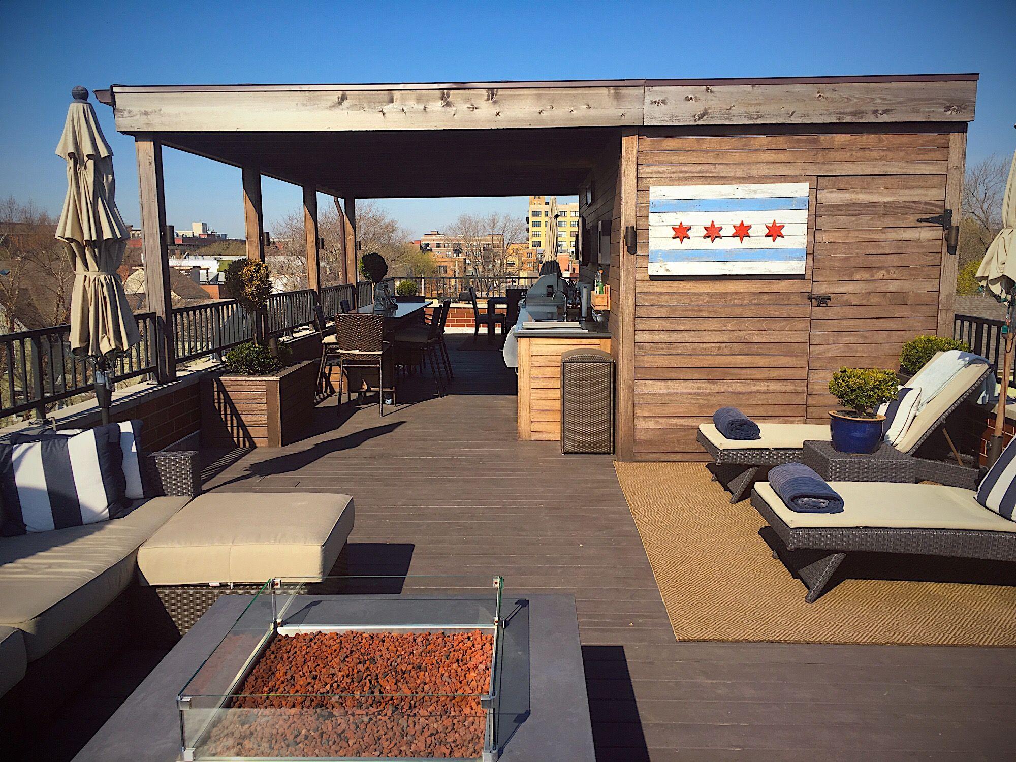 Rooftop Deck Roof RooftopDeck BBQ OutdoorKitchen Kitchen