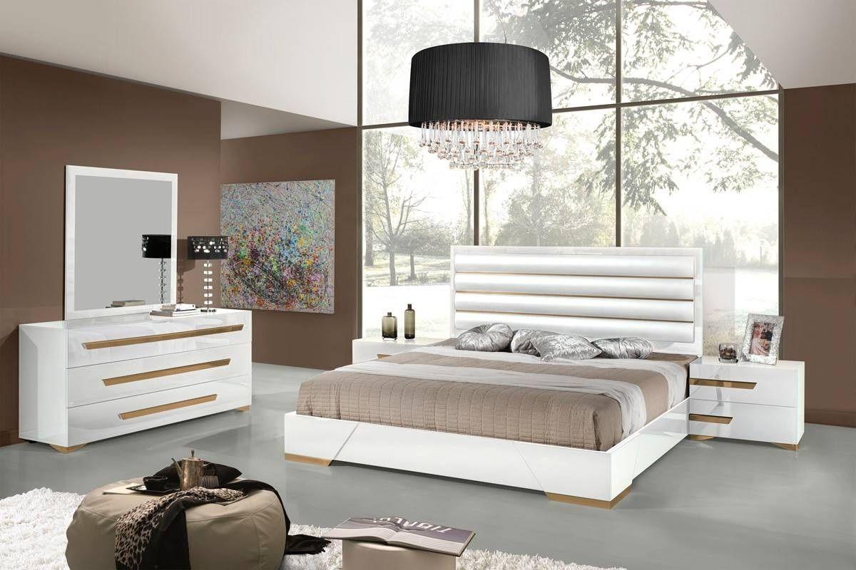 Extraordinary Italian Bedroom Set Contemporary bedroom