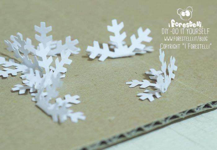 Fiocchi Di Neve Di Carta 3d : Cristalli di ghiaccio di carta d tutorial diy
