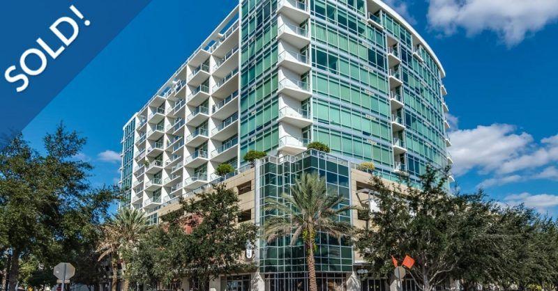 Just Sold 1 Bedroom Condo At 101 Eola Metro City Realty Orlando Condos Condo Resort Style Pool