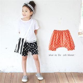 J-KIDS - Polka Dot Shorts