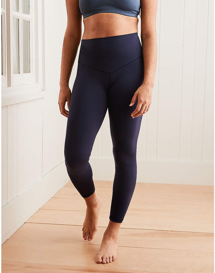 4bdb870e567831 Aerie Play Real Me High Waisted 7/8 Legging in 2019 | Cute outfits ...