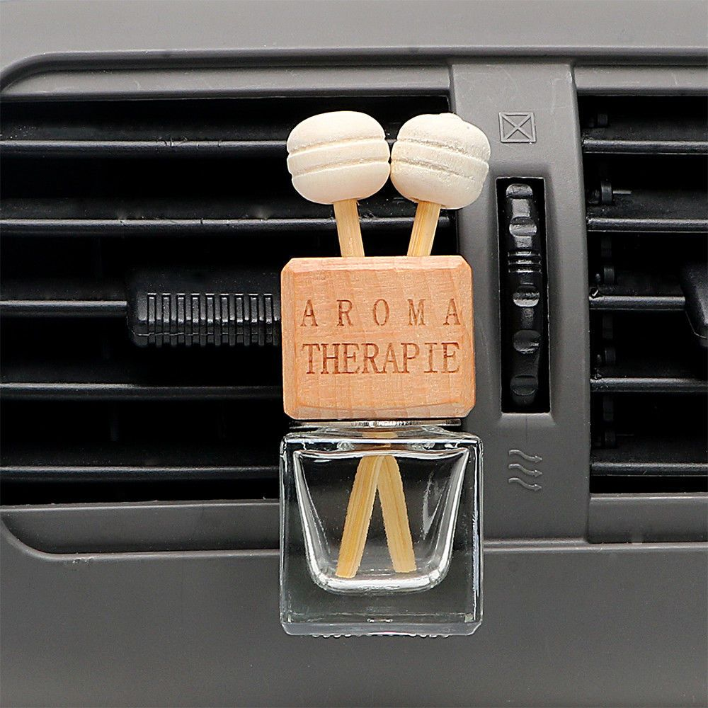 Car Air Freshener Hanging Glass Bottle For Essential Oils Car Perfume Bottle Sikeo Osvezhitel Vozduha Flakony Dlya Duhov Duhi