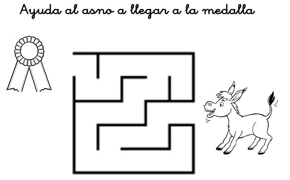 Laberintos para niños para imprimir gratis | Adornos | Education