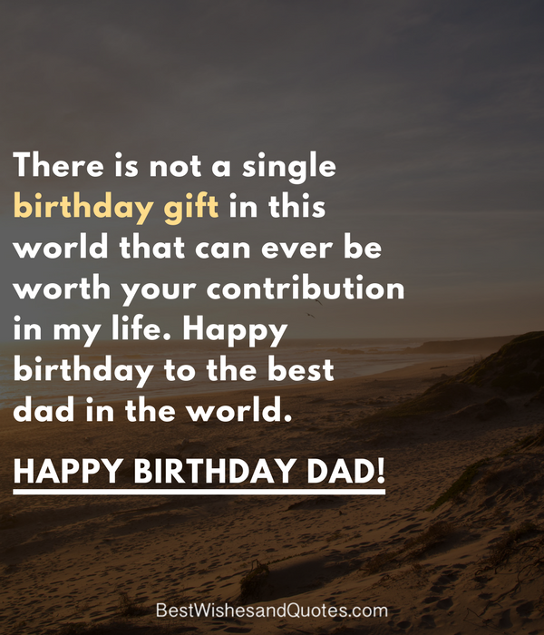 Dad Birthday Quotes 1