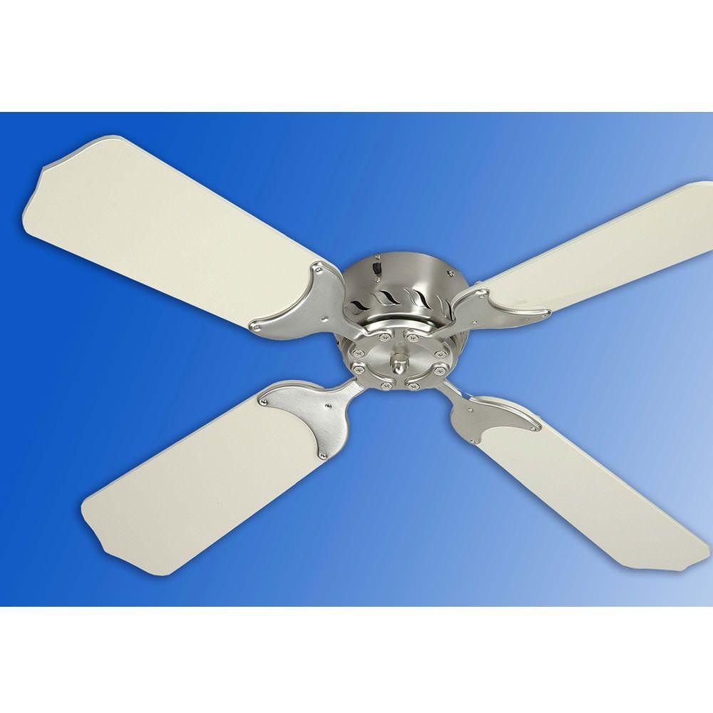 36 Quot 12v Ceiling Fan Satin Nickel White Ceiling Fan Switch Ceiling Fan Ceiling Fan With Remote