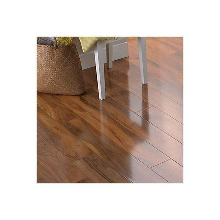 Dolce Walnut Effect Laminate Flooring 119 M Pack High Gloss