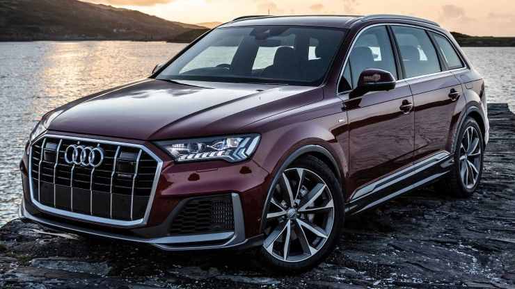 2020 Audi Q7 Matador Red In Ireland Motor1 Com Hersteller Roda