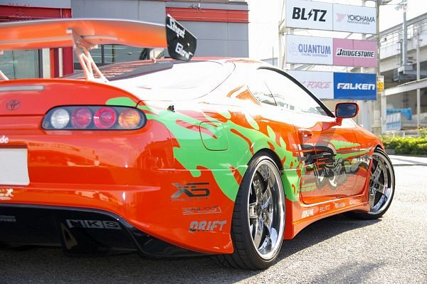 Modified Toyota Supra 1994