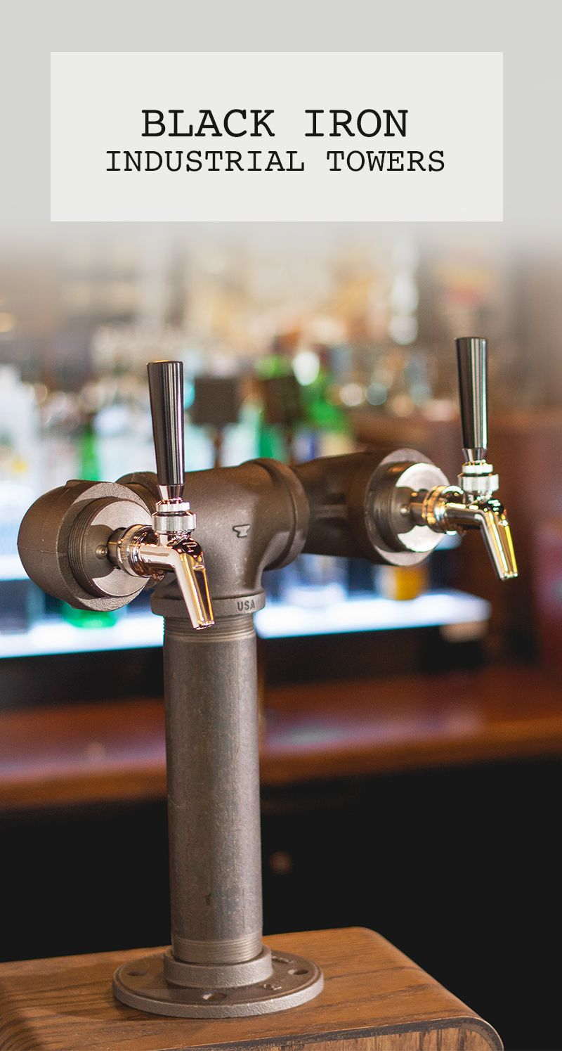 Single Double And Triple Tap Draft Beer Towers In Industrial