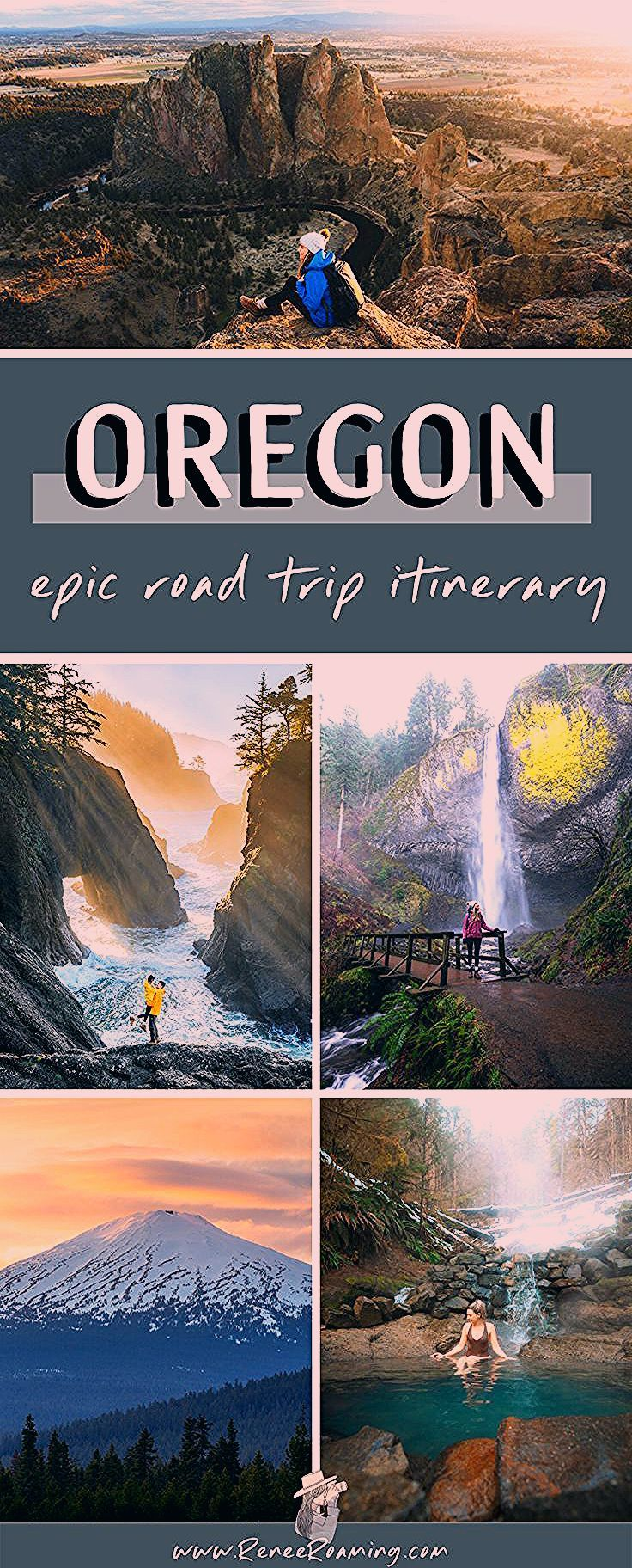 Photo of Oregon 7 Day Road Trip Exploring the Coast, Mountains, Lakes, and Waterfalls!