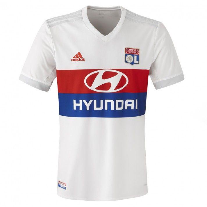 Maillot Domicile Adidas Officiel Olympique Lyonnais 2017/2018