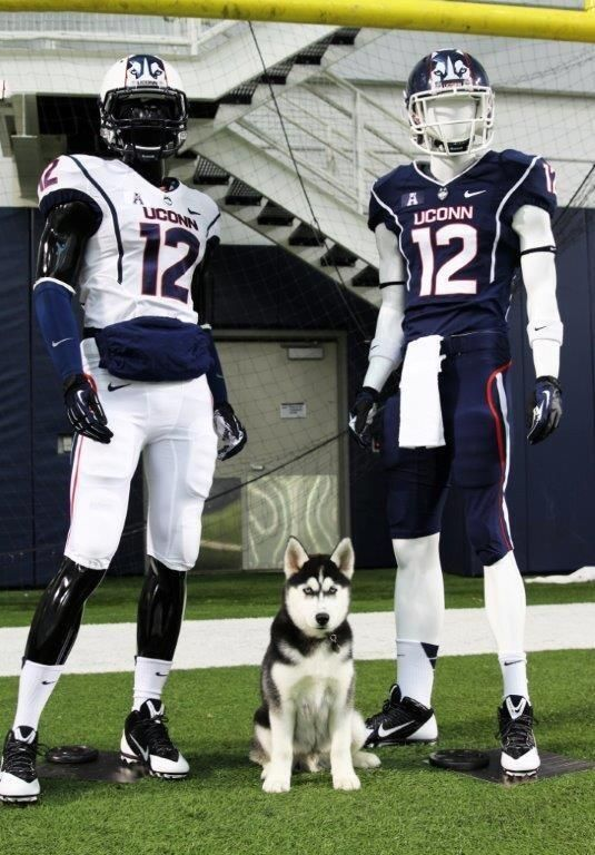 Uconn Football On Husky Uconn Huskies Football