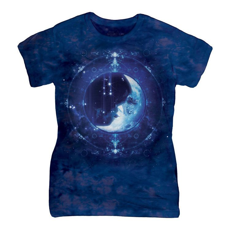 MOON FACE CLASSIC LADIES TEE is available at $22.99 http://tshirtrain.myshopify.com/products/moon-face-classic-ladies-tee  #tees #womens