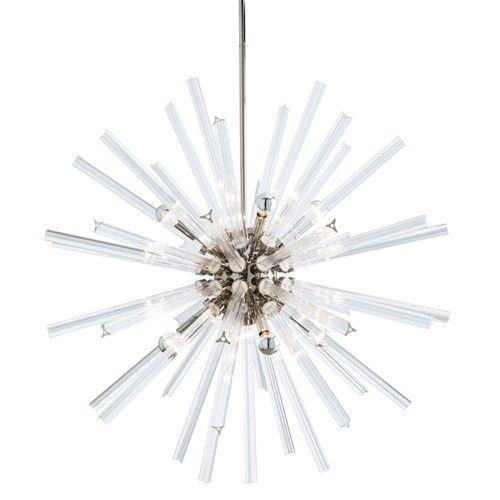 Arteriors hanley chandelier sputnik chandeliers lighting candelabra inc