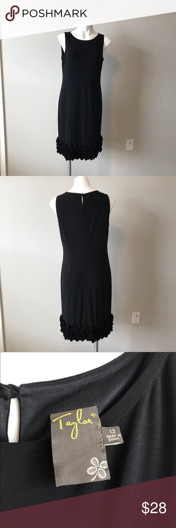 Taylor Black Dress Size 12 Black Dress Taylor Dress Clothes Design [ 1740 x 580 Pixel ]