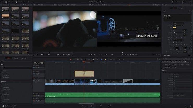 Massively Updated Blackmagic Davinci Resolve 12 5 Now Available For Download Montage Video Davinci Resolve 12 Blackmagic Design