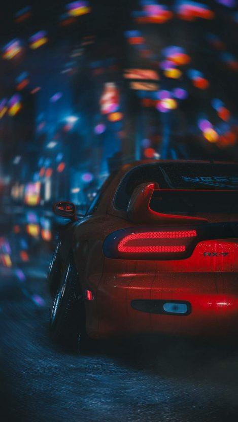 Mazda RX_7 iPhone Wallpaper Free GetintoPik in 2020