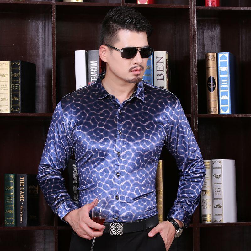 >> Click to Buy << 2016 New Arrival Mens Autumn Fashion Velvet Shirt Long Sleeve Formal Plaid Dress Shirt for Men #Affiliate