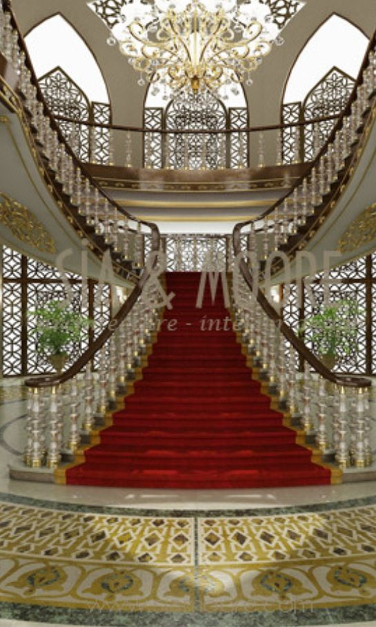 Luxury stairways houzz how do you do pinterest for Luxury staircase
