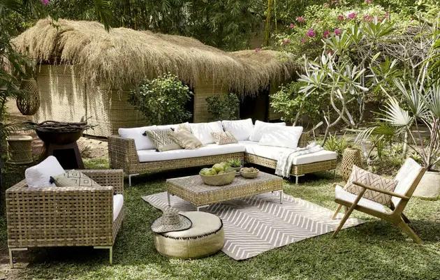 Salon De Jardin Sierra Nevada Maisons Du Monde En 2020 Maison Du Monde Canape Angle Tapis Exterieur Terrasse
