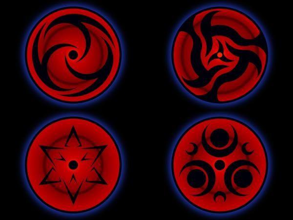 145 Examples Of Mangekyou Sharingans Mangekyou Sharingan Naruto