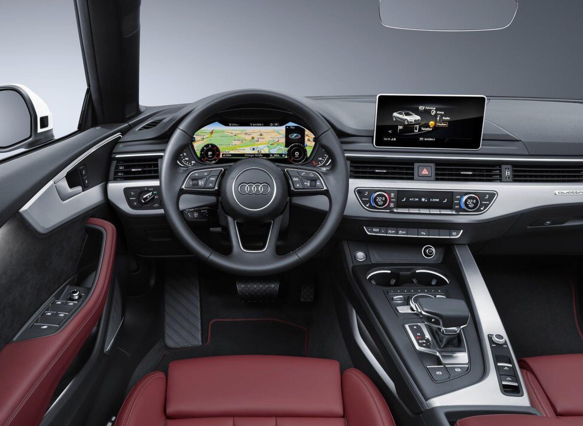 Captivating 2017 Audi A5 Cabrio Interior