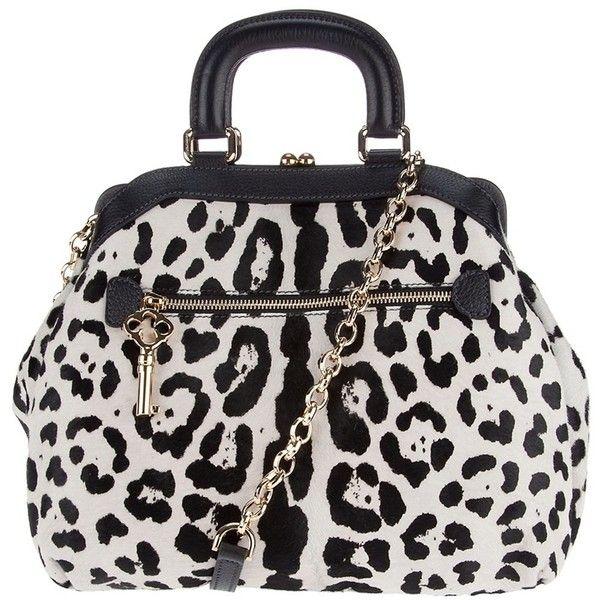 Dolce Gabbana Leopard Print Boston Bag 784 Liked