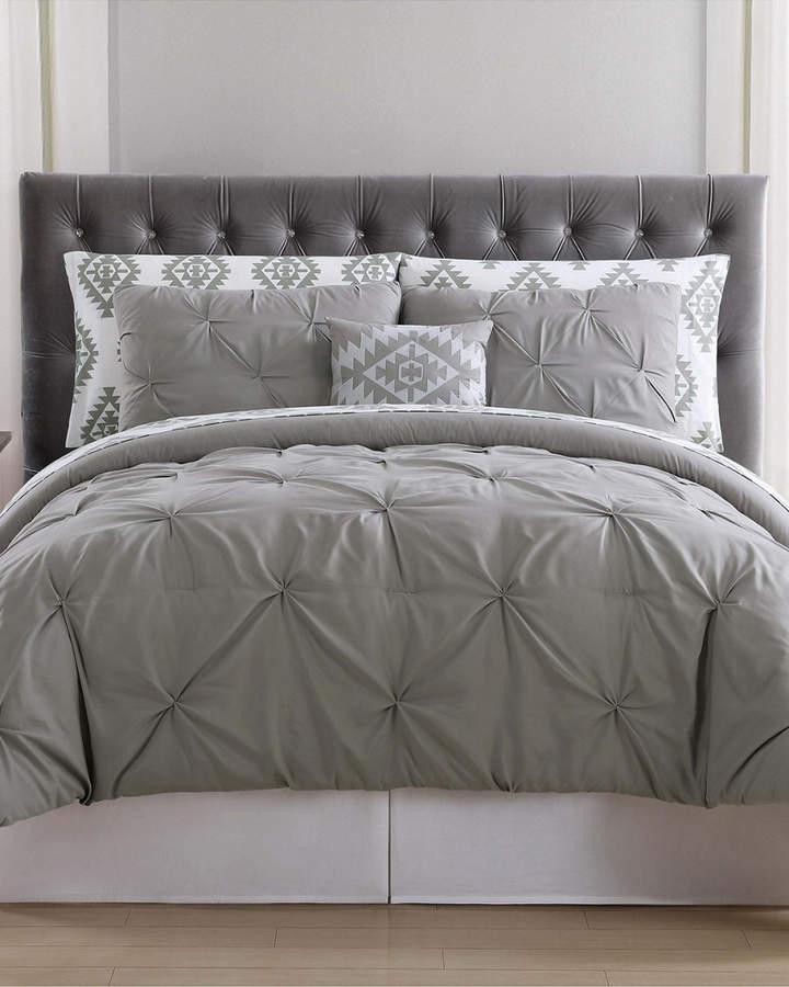 Truly Soft Crosses Pleated Bed In A Bag King Comforter Sets Comforter Sets Duvet Sets