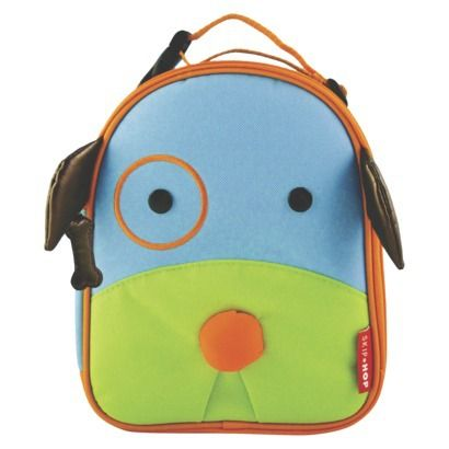 Skip Hop Zoo Lunchie Kids and Toddler Insulated Lunch Bag Dog