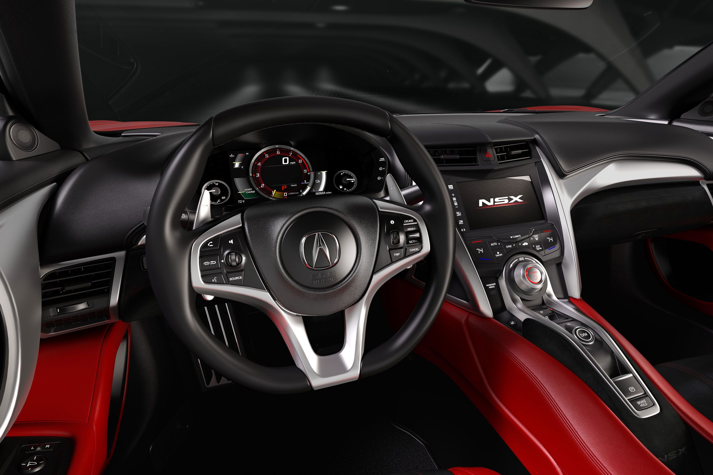 Next generation acura nsx interior image 2015 naias live brand new acura honda nsx unveiled in production form view high resolution image photo