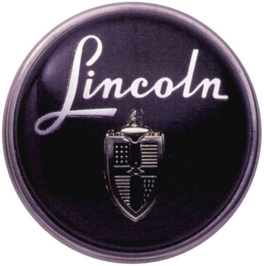 1950 Lincoln Horn Hub Classic Manufacturer Logos Pinterest