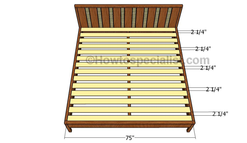 King Platform Bed Plans Projects To Try Platform Bed