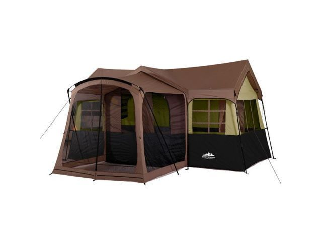 Northwest Territory Family Cabin With Screen Porch Tent 15ft X 16ft  sc 1 st  Pinterest & Northwest Territory Family Cabin With Screen Porch Tent 15ft X ...
