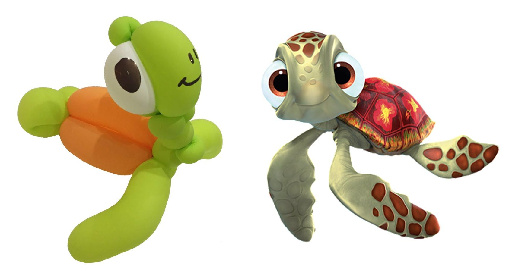 Finding Nemo Dory FISH SOFT TOYS Beanie /& Talking Turtle Squirt