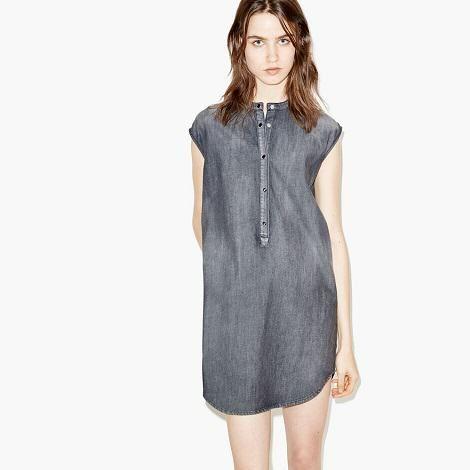 Roman Originals Femmes 100/% coton denim Ceinture Robe