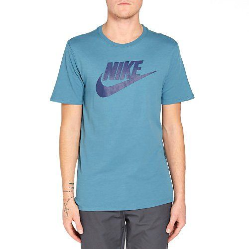 Nike M Nsw Tee Icon Futura Camiseta de Manga Corta, Hombre Precio e  informacion en