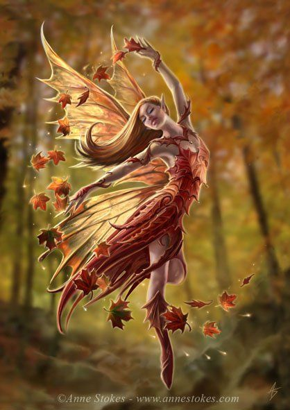 Mystical Creatures In The Fall Wallpaper F 233 E De L Automne Univers Des Cr 233 Atures Fantastiques Et