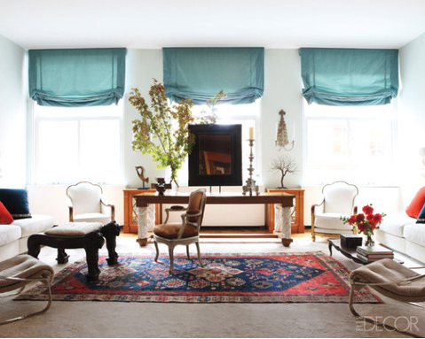Love The Turquoise Shades White Walls And Persian Carpet Design Dish Rug
