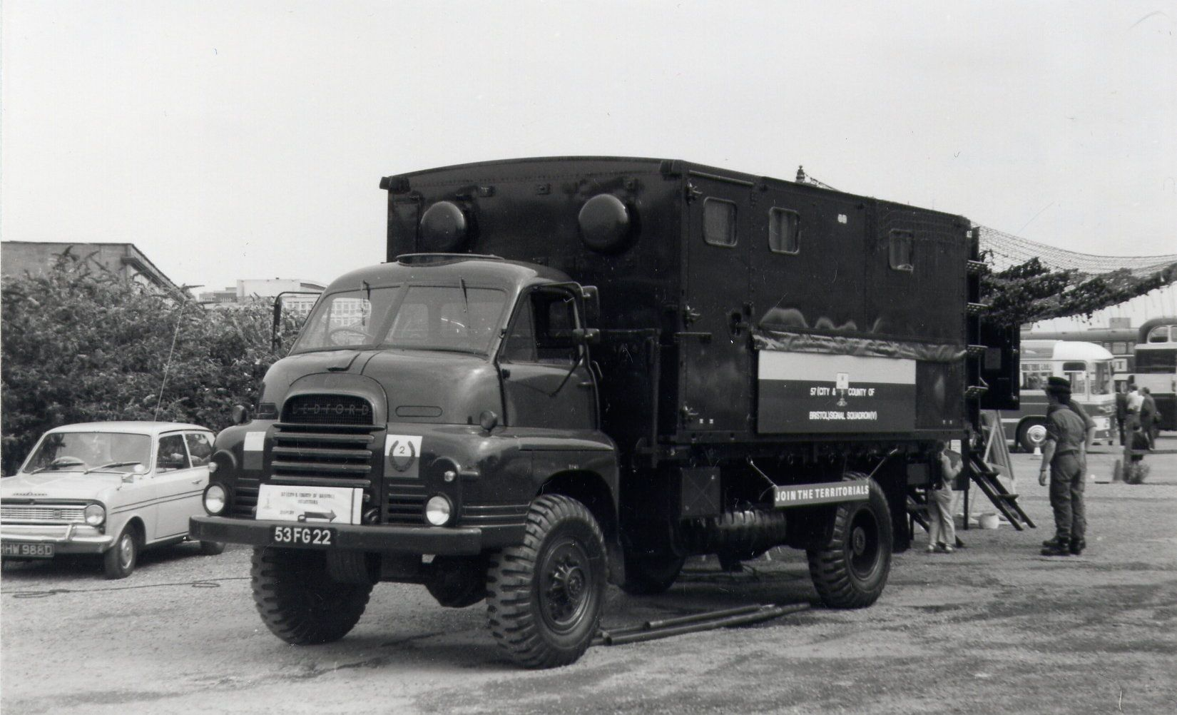 bedfordrl3ton4x4office53fg22 Bedford truck
