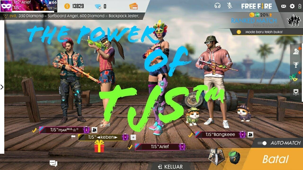 Ratakan Squad Yang Bar Bar Free Fire Batleground Whatch Up Bro