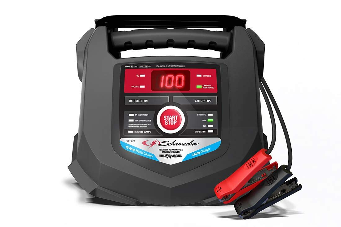 Schumacher Sc1280 6 12v Rapid Battery Charger And 15a Maintainer Check This Awesome Product B Car Battery Charger Battery Charger Automatic Battery Charger