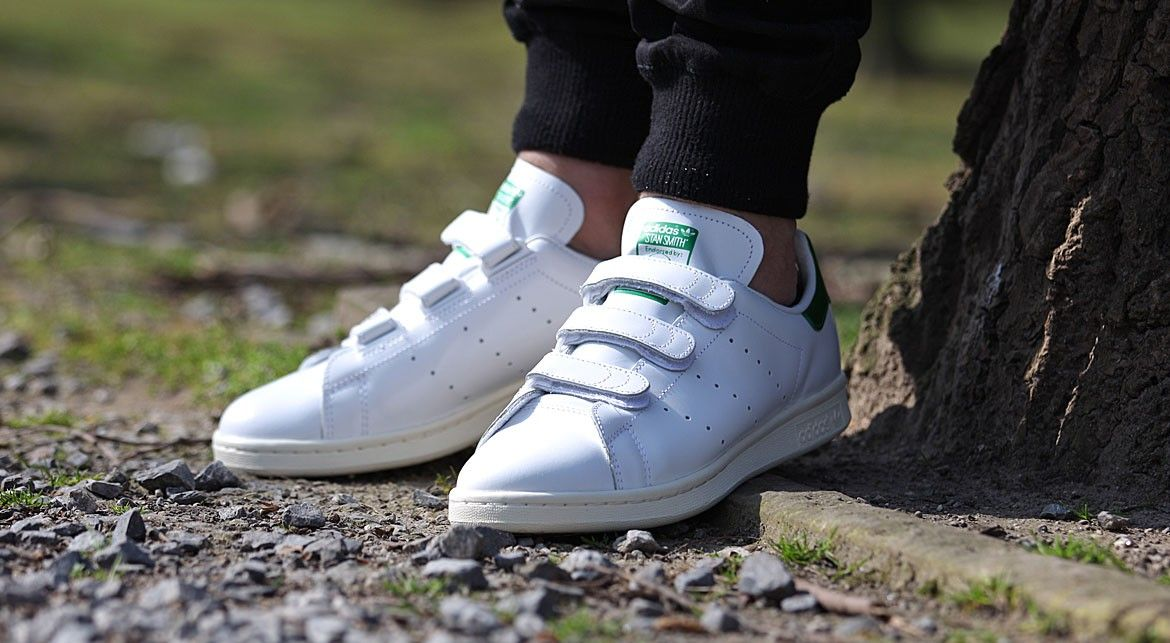 sports shoes 0e779 b9046 Adidas ... no laces no problem | White Trainers_OnTrend ...