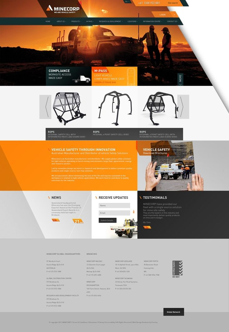 Web Design Corporate Trade Industrial Favorite Latest News Trends On Webdesign And Webdevelopment Web Design Web Design Tips Business Website Design