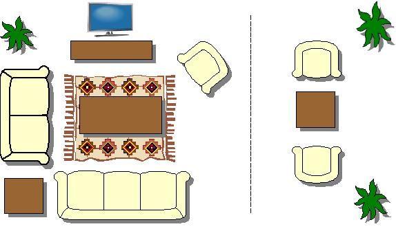 How To Arrange Furniture In A Rectangular Shaped Room Rectangle Living Room Living Room Floor Plans Living Room Furniture Arrangement